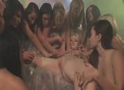 Lesbian Bukkake #16, Scene 2