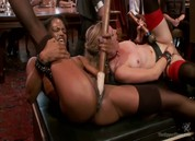 Slave Orgasm Overload, Scene 1