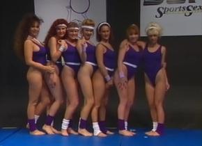 Nude Gymnastics - Tiffany Mynx, Sahara Sands, Chasey Lain, Keisha