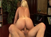 Naughty Blonde MILF Librarians, Scene 2