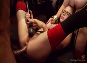 Masquerade Orgy with Nine Slaves,100 Horny Guests, Part Two, Scene 1